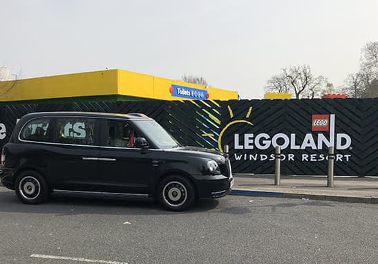 Black Cab to Legoland