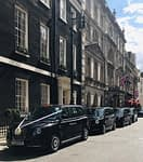 Corporate Black Cabs London | Wedding Taxis to Mayfair