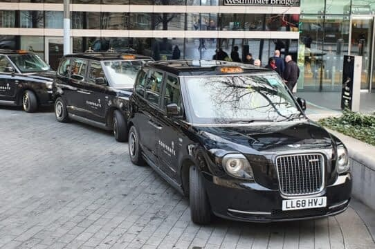 Corporate Black Cabs London | Black Taxi Cabs London
